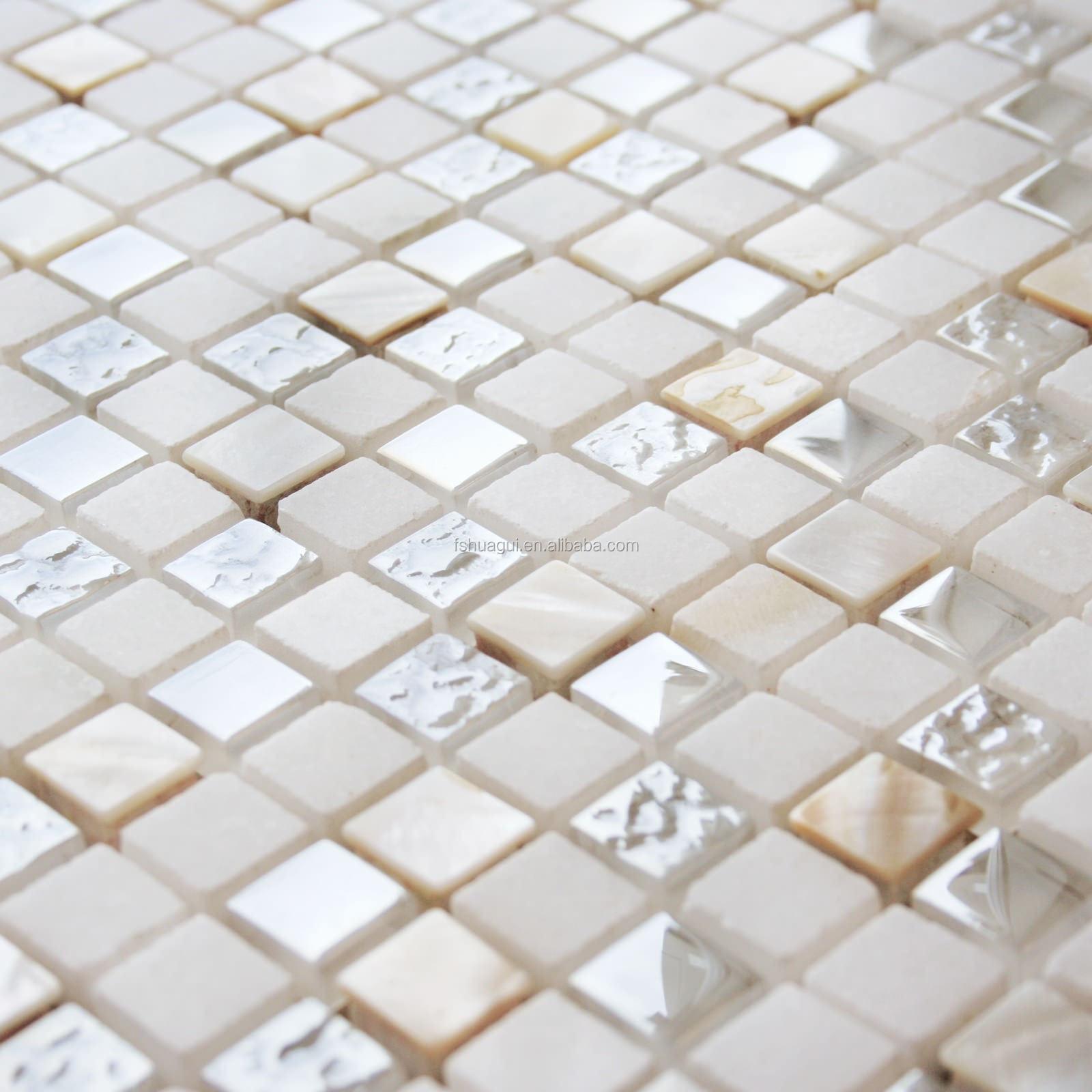beige 15 x 15 8 mm enveloppe de marbre carreaux de. Black Bedroom Furniture Sets. Home Design Ideas