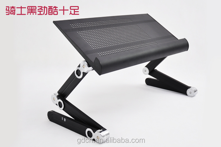 Plegable portable del ordenador port til soporte para la - Mesa portatil cama carrefour ...
