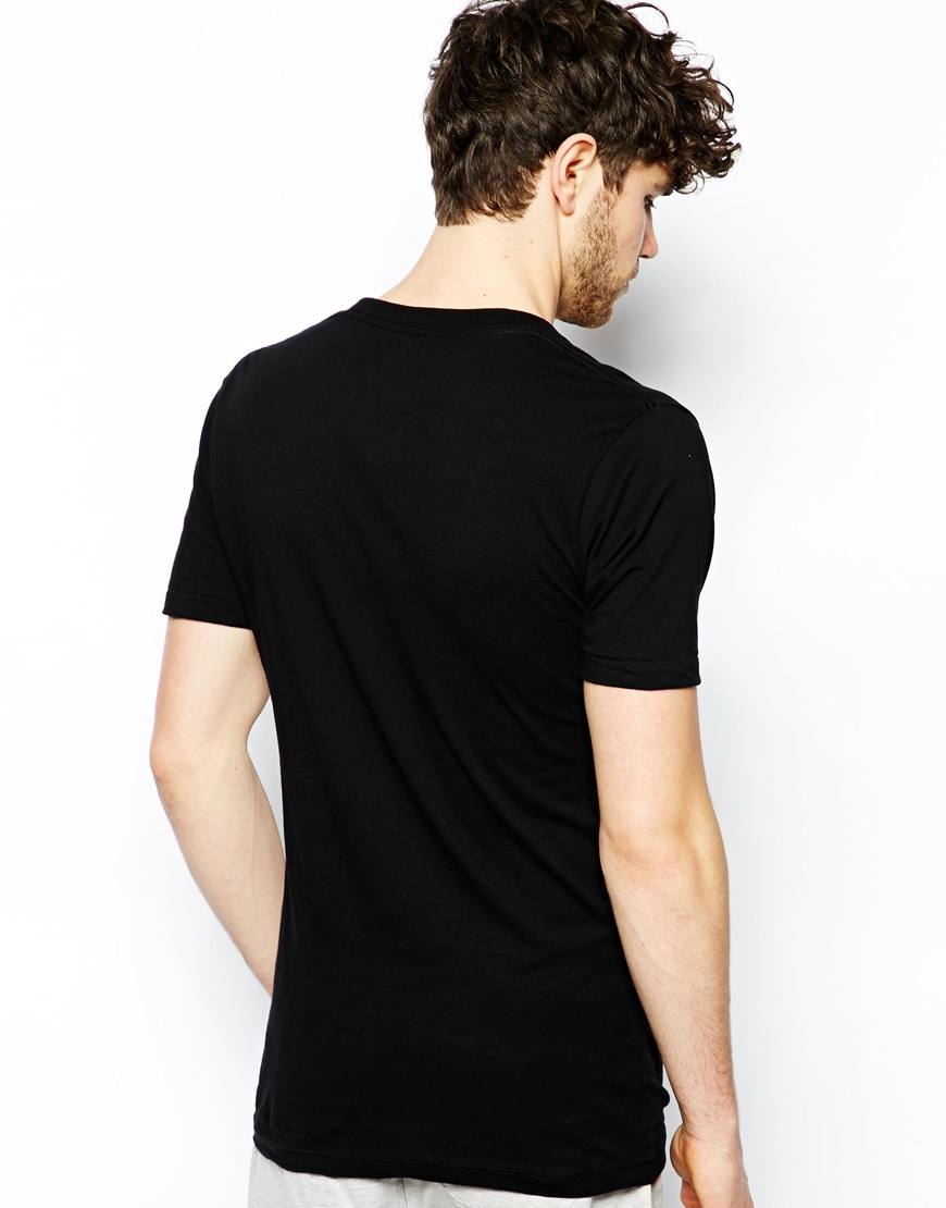 Deep v neck black blank tshirt short sleeve china for Model black t shirt