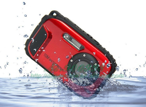 "16MP Digital Camera Waterproof with 2.7"" TFT Screen 10m Water (DW-DC-188)"