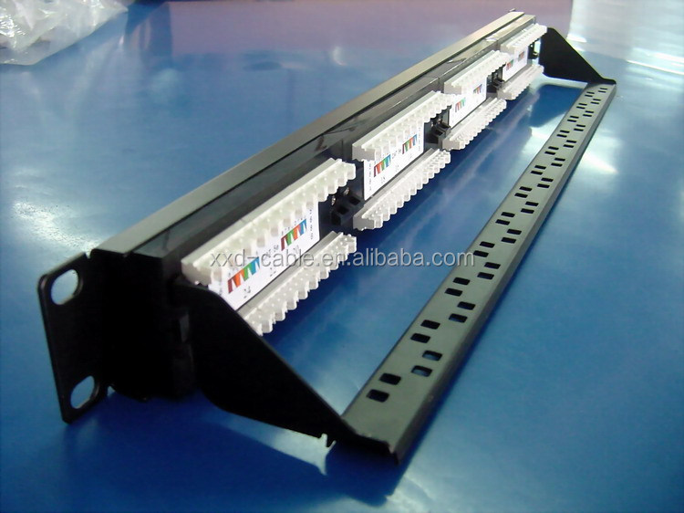 Wall Mountd 10inch 12 Ports Utp Cat5e Patch Panel Buy