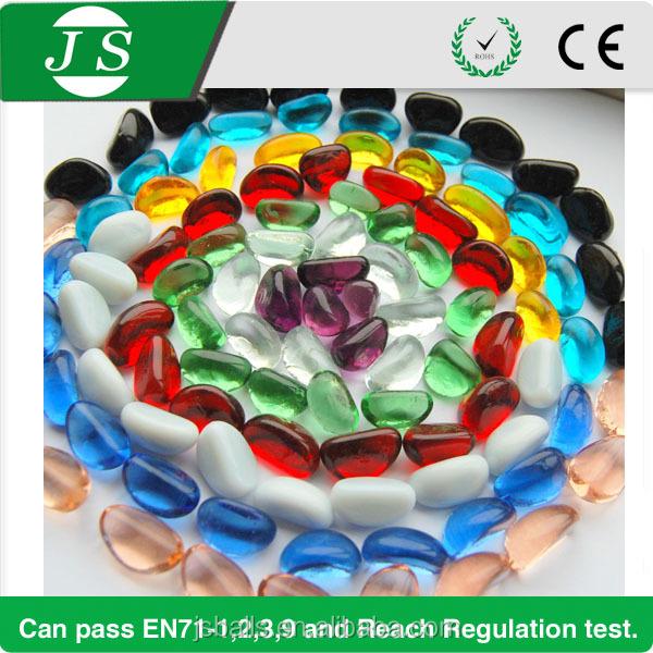 Wholesale Beautiful Garden Color Decorative Glass Pebbles Buy