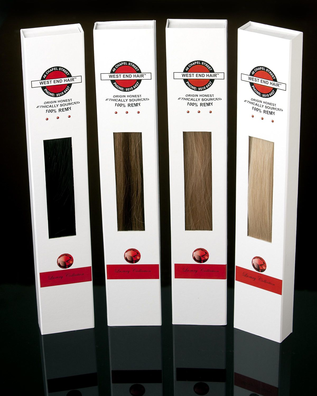Custom Paper Luxury Human Hair Extension Packaging Boxhair