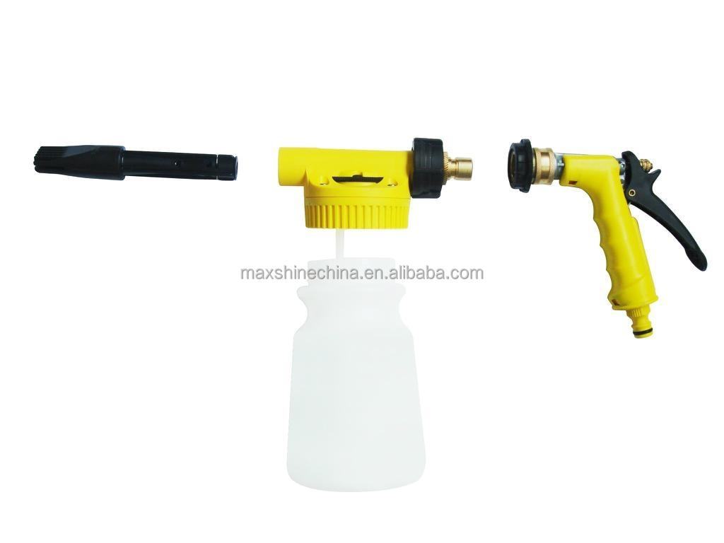 mousse de pistolet de lavage de voiture mousse de nettoyage outils magie nettoyage de canon. Black Bedroom Furniture Sets. Home Design Ideas