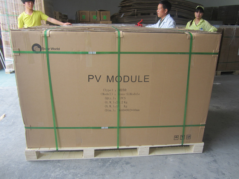 140W solar panel with high efficiency