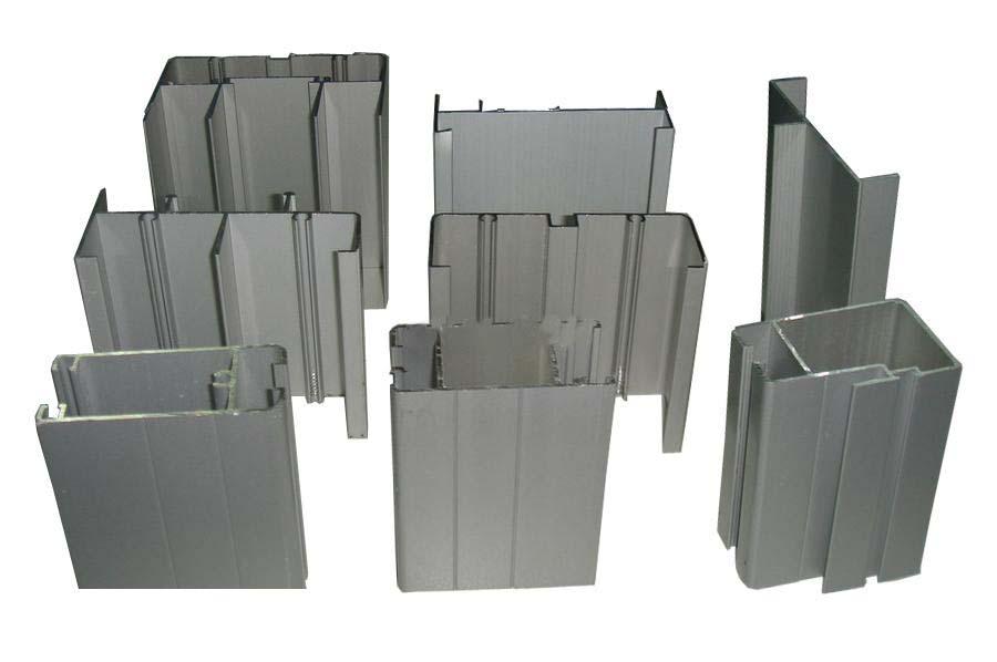 Perfil de aluminio europea para ventanas correderas y for Marcos de ventanas de aluminio