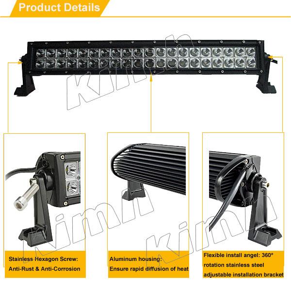 CE RoHs IP67 Certification Wholesale 4x4 Auto Offroad LED Car Light