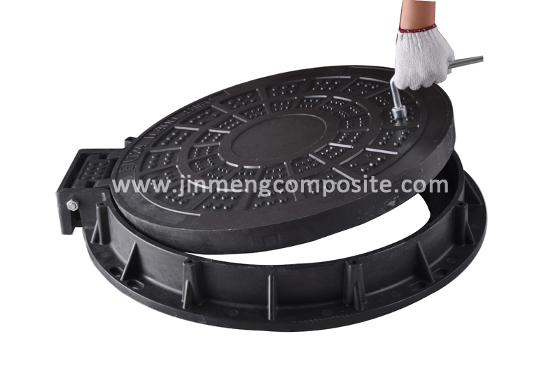 Hinged Manhole Covers : Mhc dia mm d hinged cover for main road view
