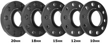 car wheel spacer 5x120 hub 72.6 15mm 18mm 20mm wheel spacer with extended bolts fit for BMWE36 E60 E90 F10 F30