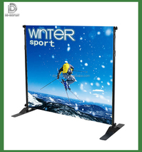 Free Standing Adjustable Telescopic Banner Stand For Advertising