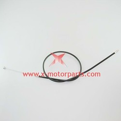 The throttle cable for the 2 stroke dirt bike