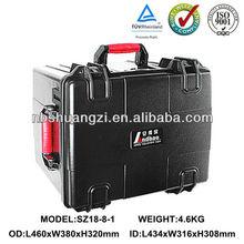 Wholesale waterproof hard ABS plastic carry case/tool case with EVA foam insert