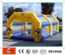 Ourdoor red inflatable batting cages for baseball games,inflatable batting cage price