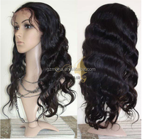 Best selling raw unprocessed 7a grade hair extension full lace wigs