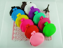 2014 hot sell cute Animal new design silicone coin purse