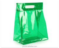 European Christmas Gift Clear PVC Promotional Package Tote Bag