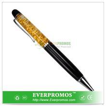 Novelty Design Gold Dust Pen For Fun