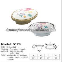 antique porcelain furniture handle