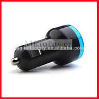 Factory wholesale Dual USB Port Car Charge