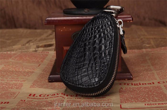 Luxury handmade key case for car genuine crocodile leather car key case for BMW TOYOTA _5