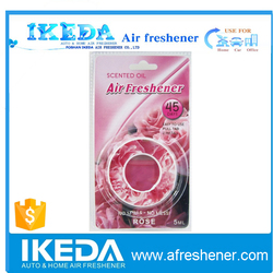 2015 ikeda branded new design hot sale membrane car air freshener