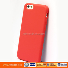 High quality silicone Cellphone protective shell skin for iphone 6s mobile phone cover