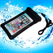 2015 waterproof mobile phone cover for swimming sports