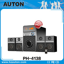 New products 4.1 channel disco light speaker,portable multi-functional speaker system
