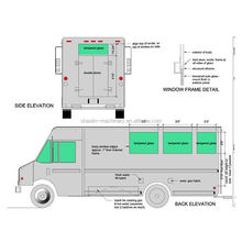 Top selling mobile food vending van for sale