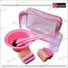 Hair Dye Tool Kit Barber Coloring Tools Kit Salon Dye Kit - Pink