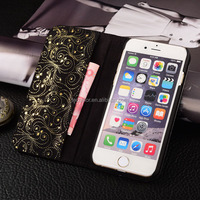 wallet custom Handset Leather Phone Case,Mobile accessories For iphone 6s Wallet Case,For iphone 6s custom handset case leather