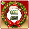 promoción de Navidad ficha para restablecer el tóner para Samsung mlt-d101s chip
