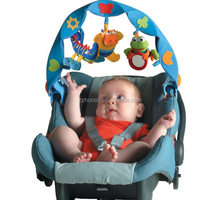 musical take-alng arch, blue color musical travel arch, fits most strollers and baby carriers