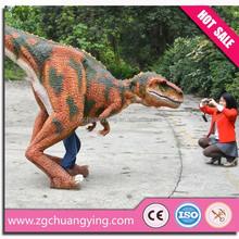 Playground Equipment Walking With Dinosaur Costume