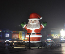 giant size inflatables christmas decor