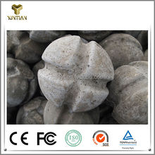 improve molten steel refractory ball to converter