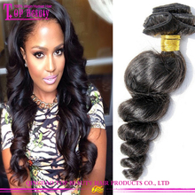 Alibaba Hot Sale Peruvian Loose Wave Hair 6A Grade Unprocessed 100% Human Peruvian Hair Extension