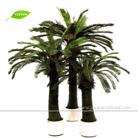 GNW APM045 artificial fake bonsai palm tree plant low price for sale