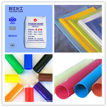 PVC resin pipe grade titanium dioxide rutile with high quality and good price