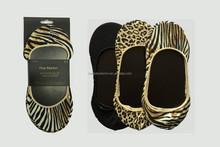 animal print socks 3pairs Leopard zebra printed