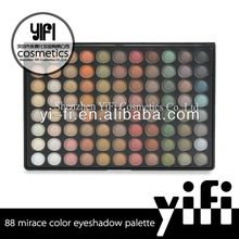 Wholesale!88 mirage color eyeshadow palette with morror new model developed. for oem service only.