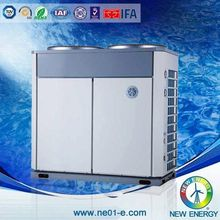 top brand 80kw air to water heat pump for hot spring ce cb certificates