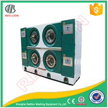 Full enclosed hydrocarbon dry cleaning machine
