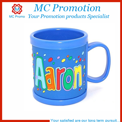 Kids personalized plastic coffee cups mugs with lid buy - Cups and kids ...