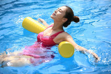 Vinyl Coated Foam Pool Noodles Dipping Pool Noodle For Water Sports Swimming Recreation And Relaxing