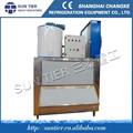 Ce aprobó sol nivel de hielo en escamas máquina del fabricante de helado suave / helado helado máquina