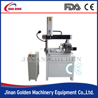 4 axis cnc router engraver milling and drilling machine