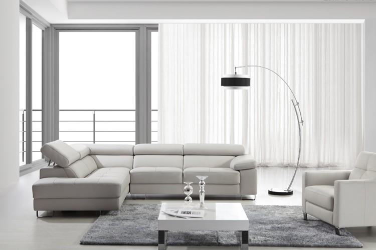 ultimo disegno di lusso di piccole dimensioni in pelle soggiorno ... - Ultimo Disegno Di Divano Ad Angolo