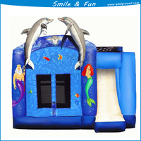 Inflatable jumping castle of size 4.5*4.5m with CE and good price and quality
