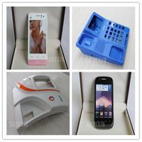 professional OEM cnc plastic prototype mobile phone mock up